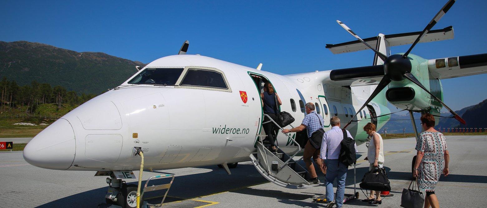 En levedyktig luftfart i hele Norge
