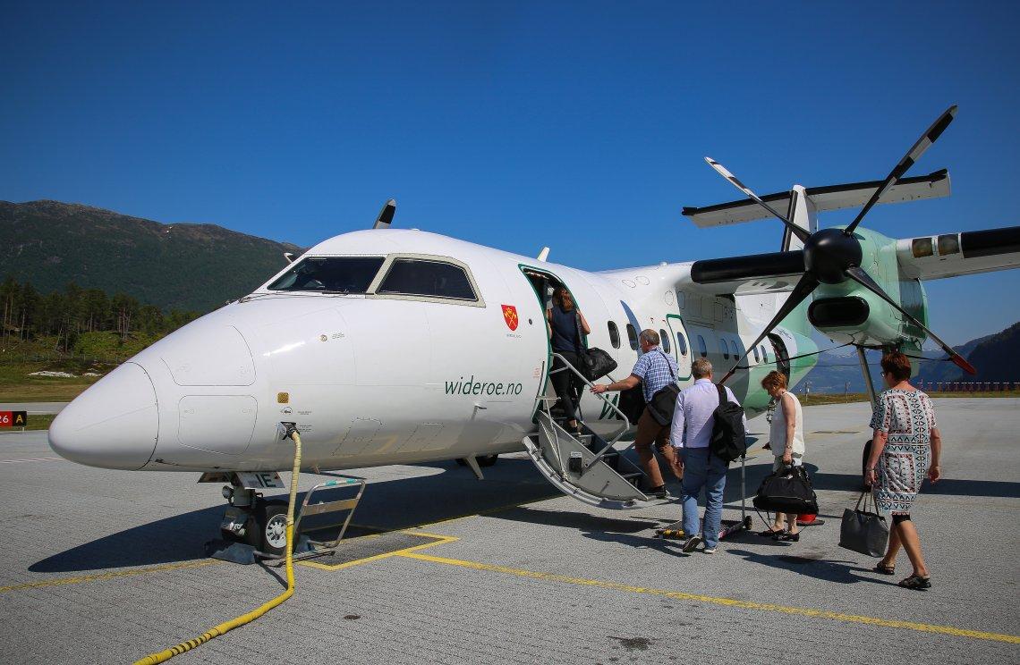 Flere flyforslag fremmes av Senterpartiet på Stortinget fredag
