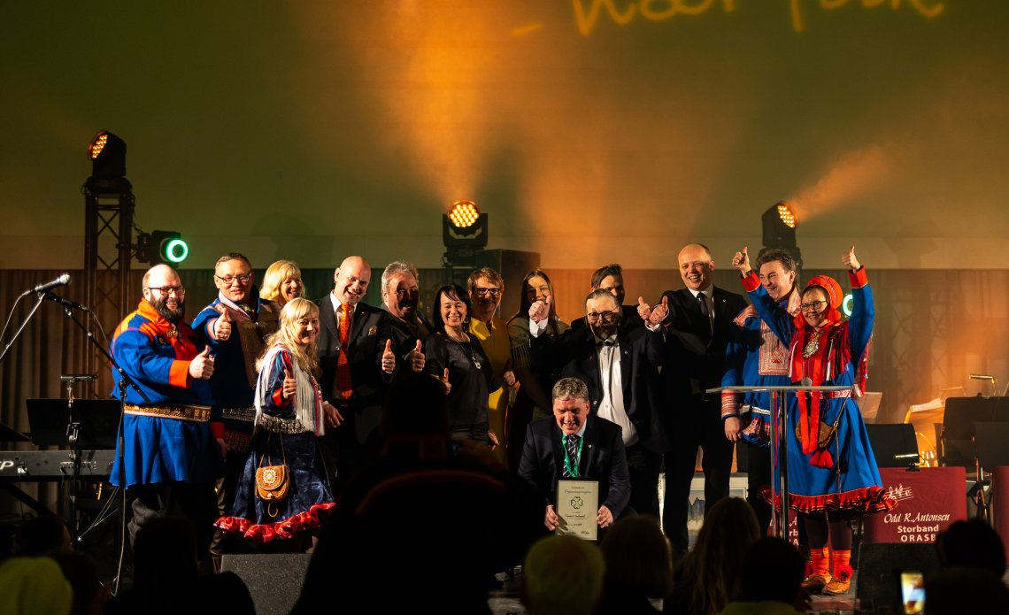 Høythengende pris til Finnmark Senterparti