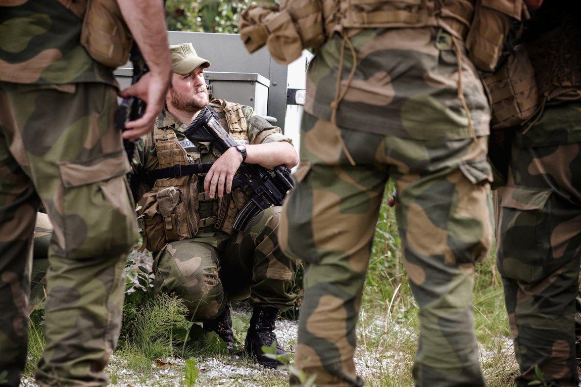 2020 Soldater på øvelse (Heimevernets skole- og kompetansesenter), Dombås, Oppland