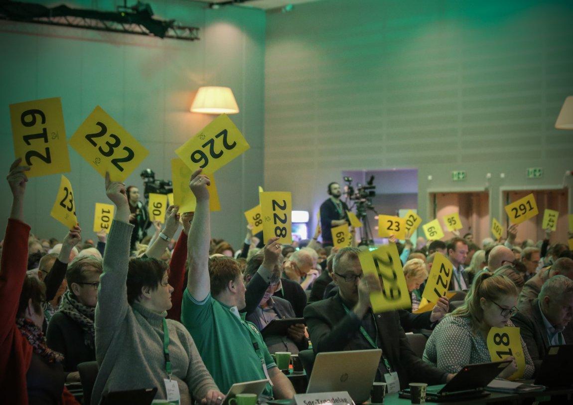 Avstemning, landsmøtet 3027