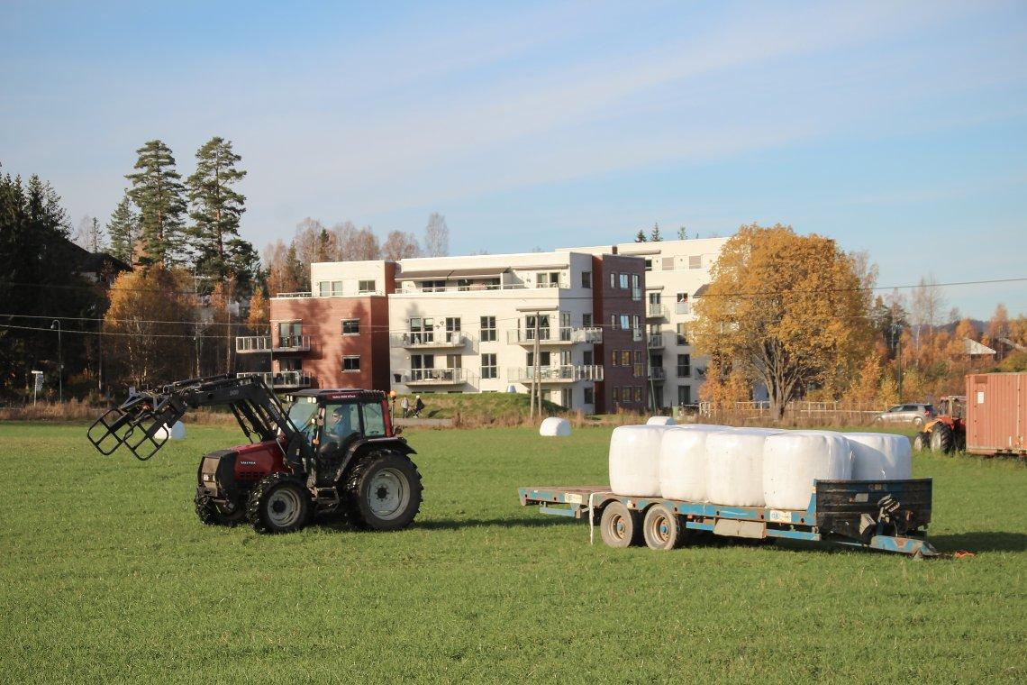 Senterpartiet vil ha helt slutt på utbygging av industri og boliger på matjord