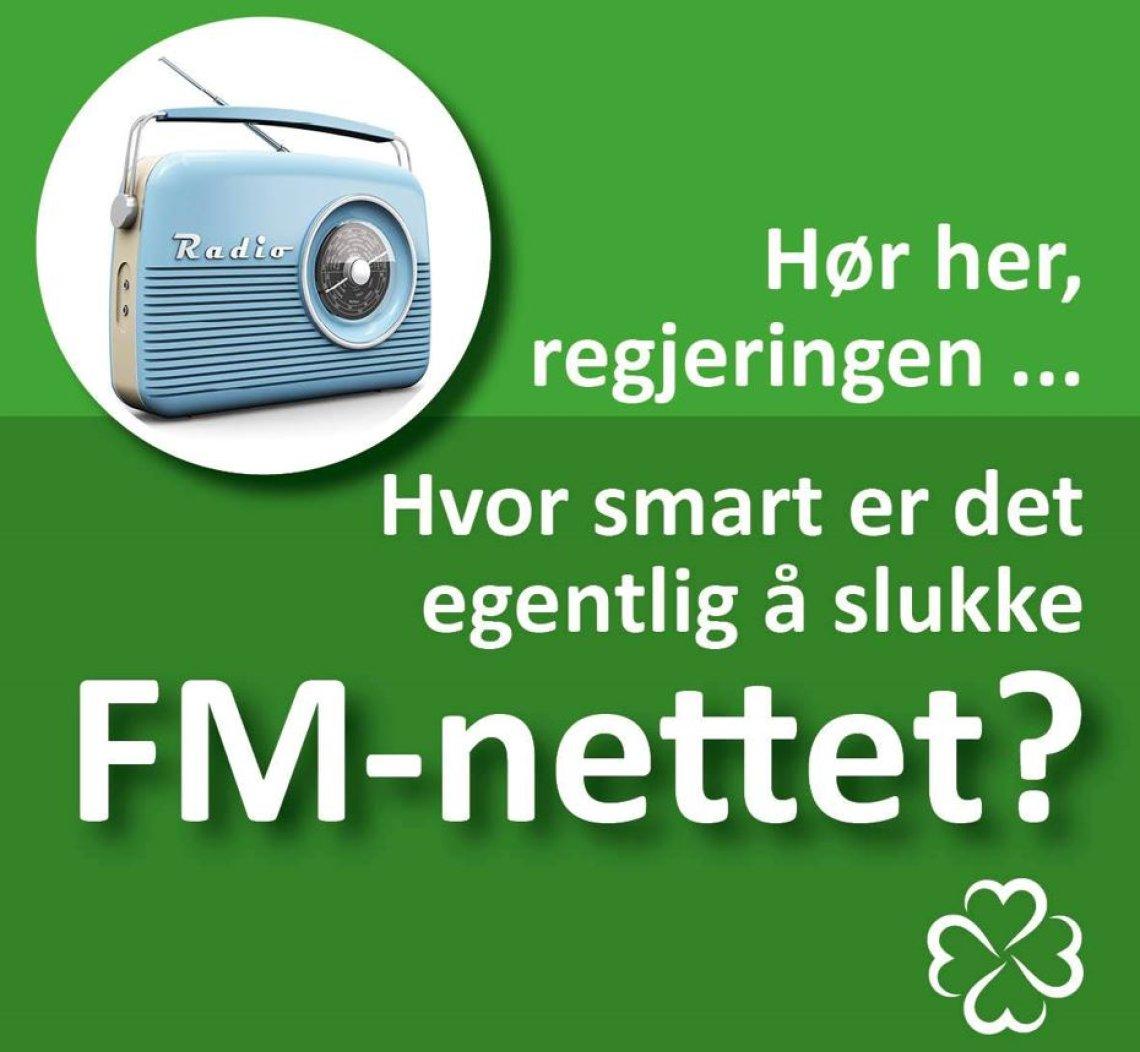 Skru på FM-nettet igjen!