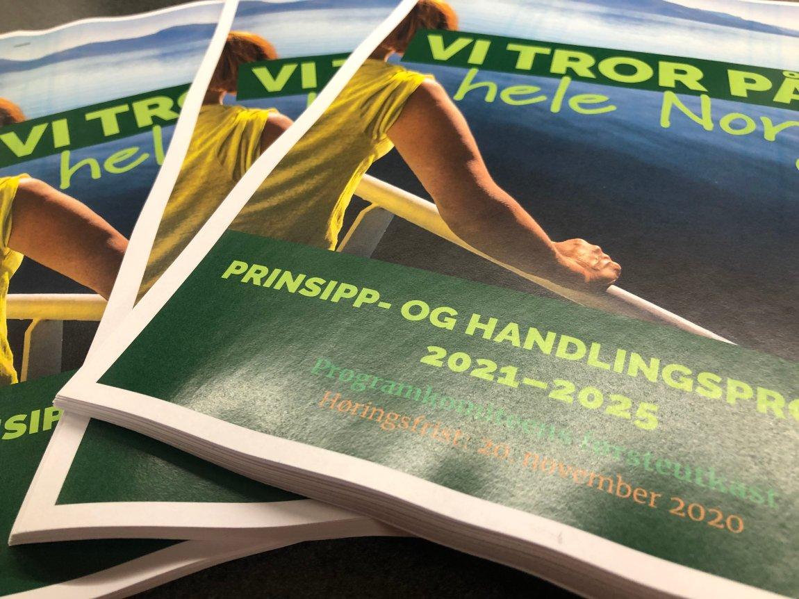 Sp vil snu sentraliseringen og bygge arbeidsplasser i Norge