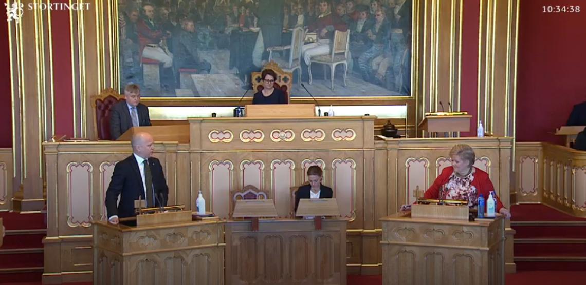 Statsministeren ville ikke oppfordre til å kjøpe norsk