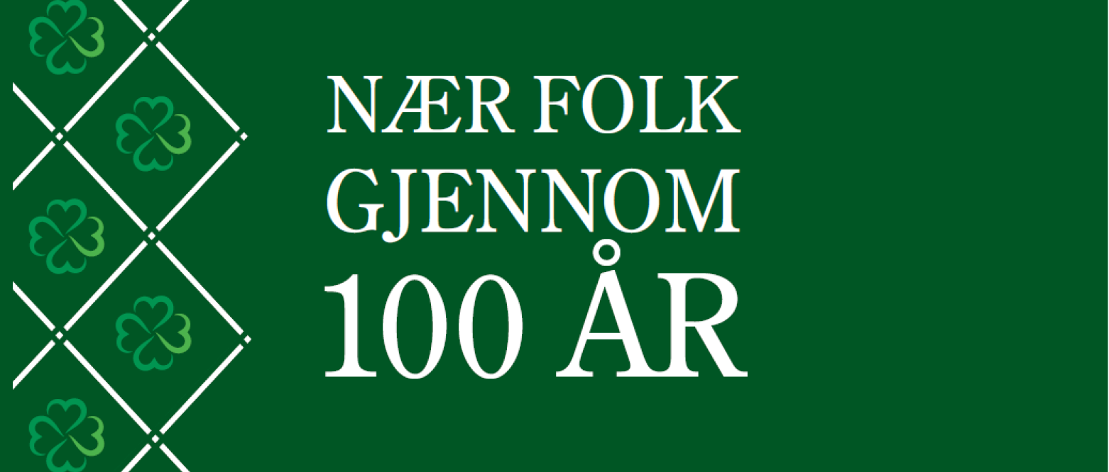 Senterpartiet 100 år - hilsen fra Akershus Senterparti