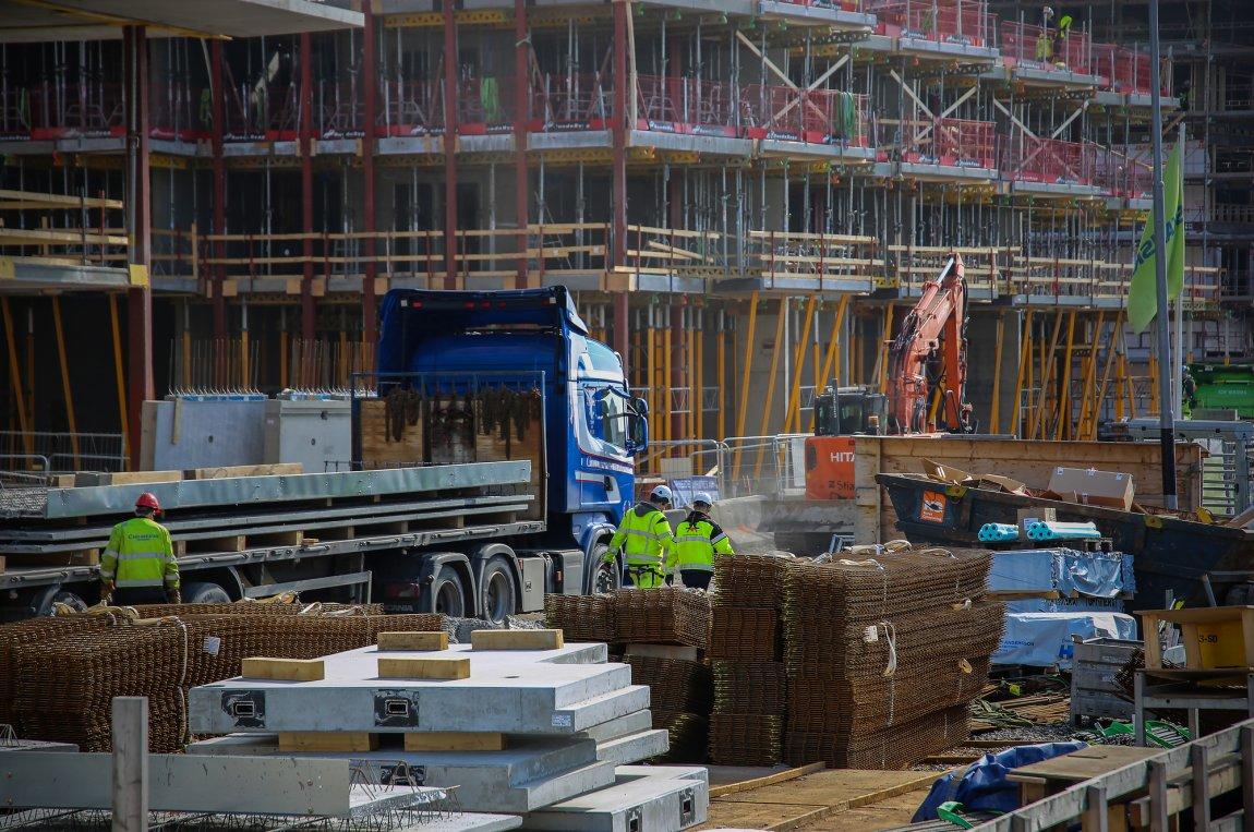 Anleggsvirksomhet / byggeplass