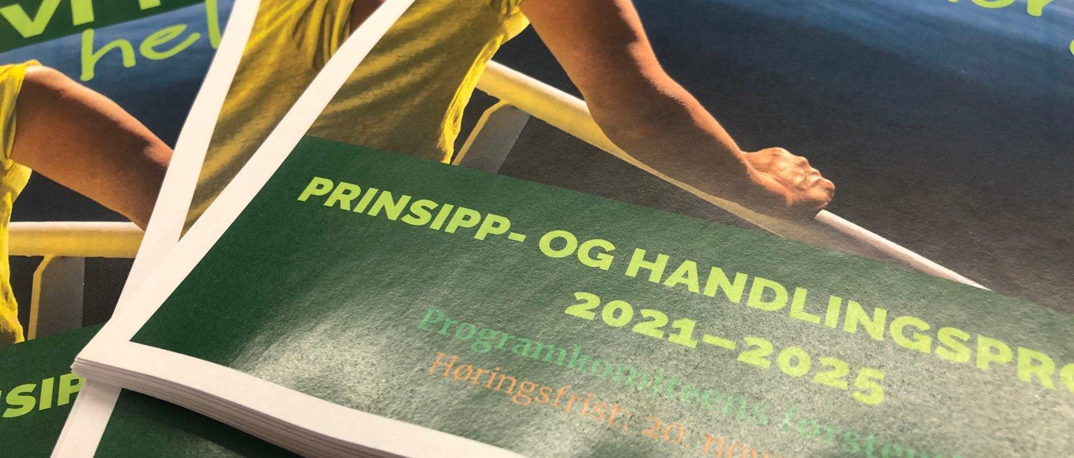 Lørenskog endringsforslag til Senterpartiets endelige programutkast 2021-2025 2. runde