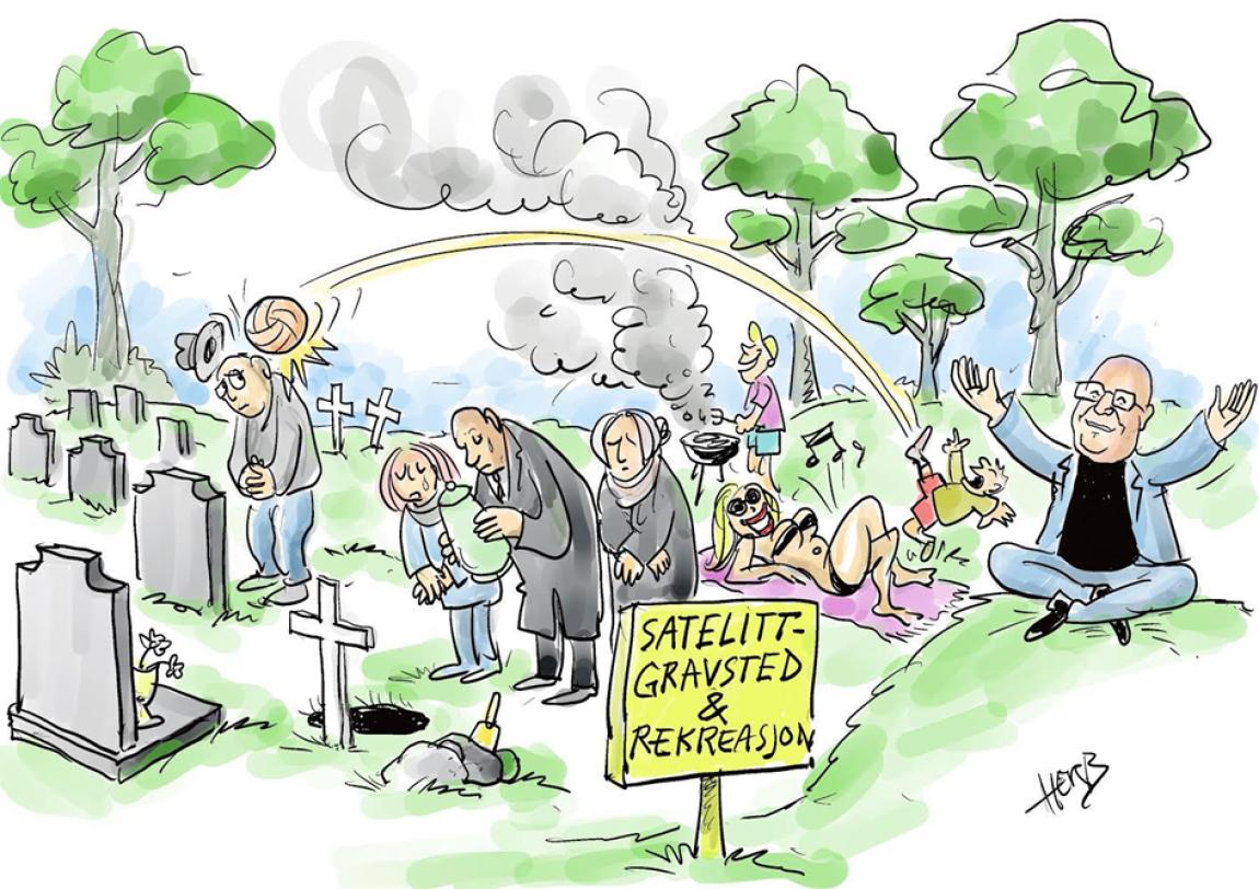 Urnesatellittgraver - en ide som bør gravlegges?