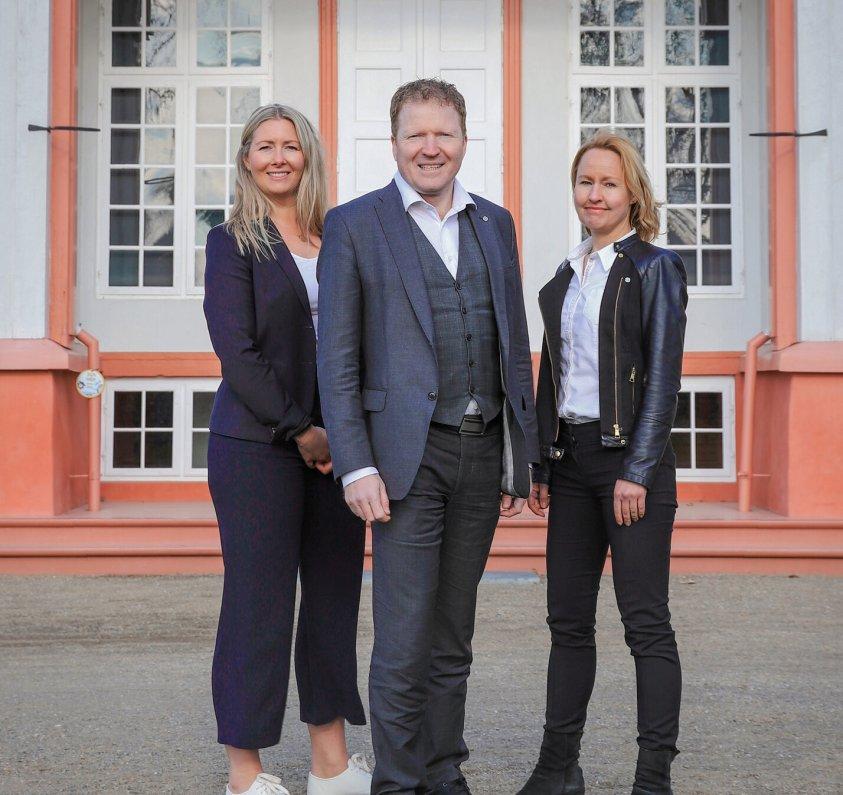2021 Else Marie Rødby, Sigbjørn Gjelsvik og Kari Mette Prestrud, topp tre på stortingslista, Akershus