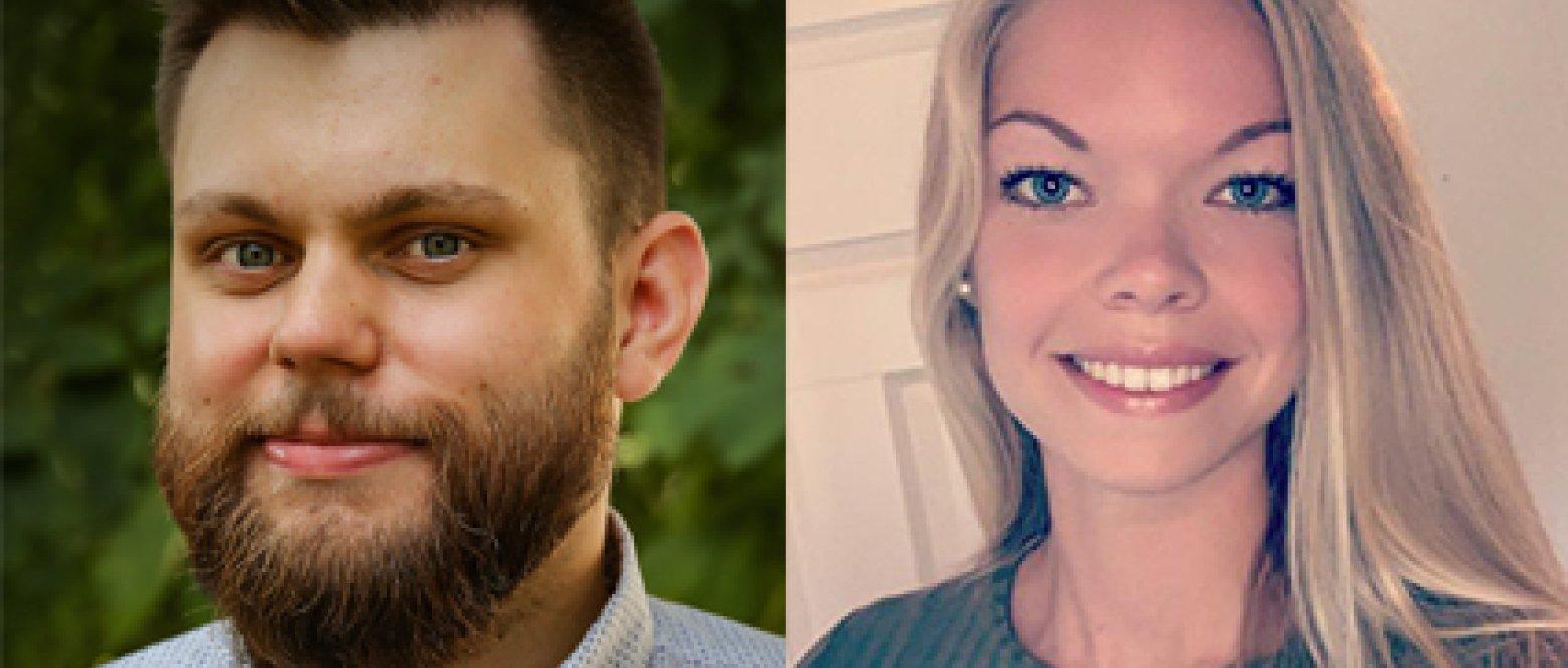 Alf Halvar Næsje blir ny fylkessekretær, og Anne-Marthe Finsveen blir organisasjonsrådgiver