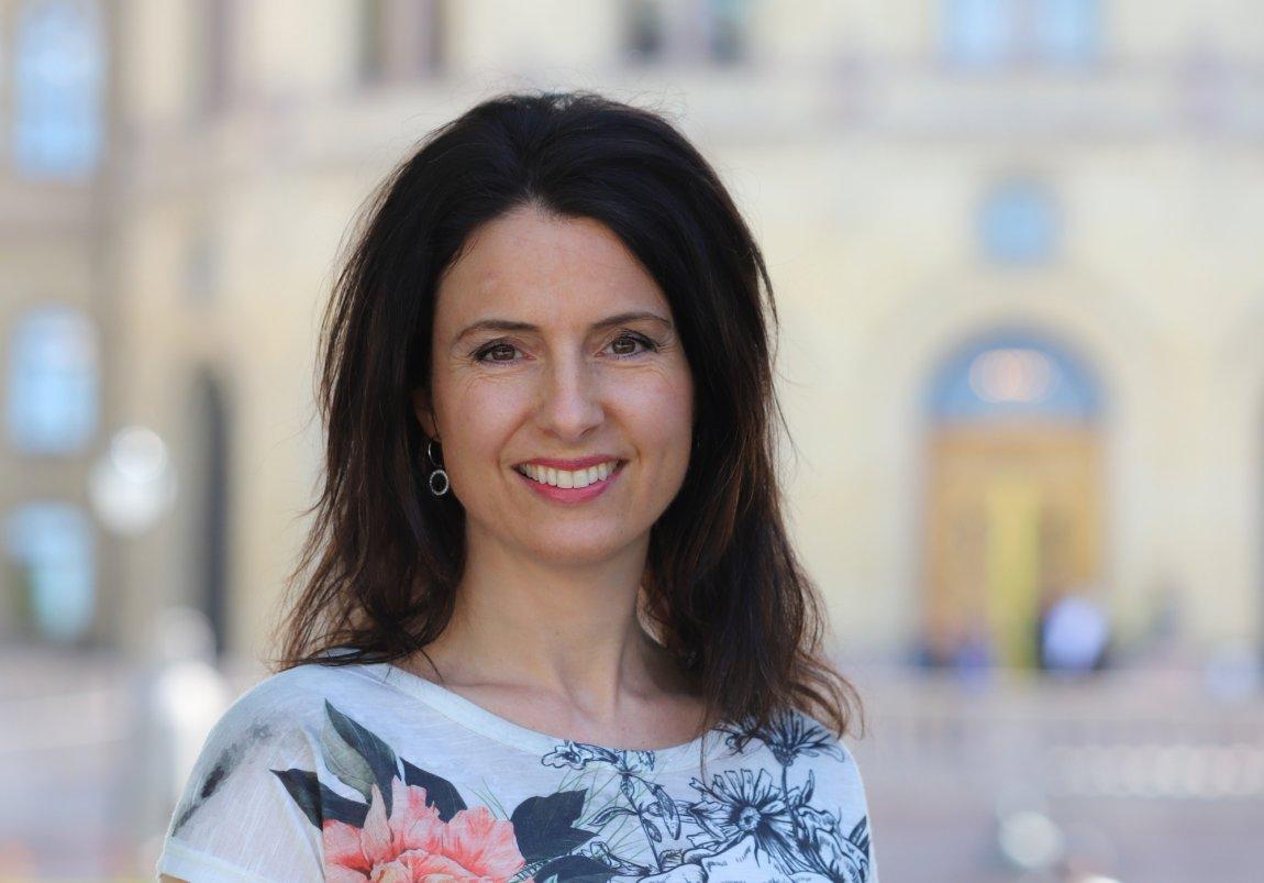 2020 Stortingsrepresentant Jenny Klinge, Møre og Romsdal - portrett
