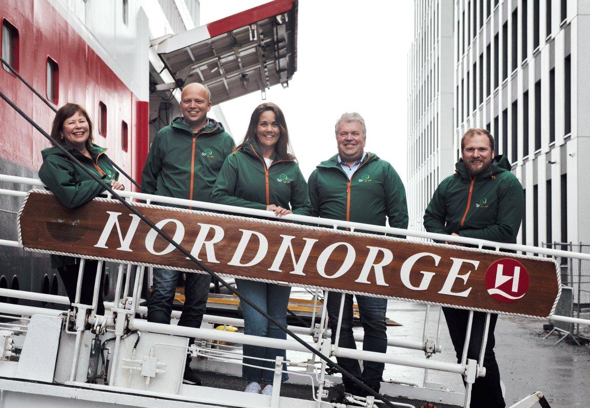 Senterpartiet vil bruke mer penger i nord. Det får Høyre til å steile!