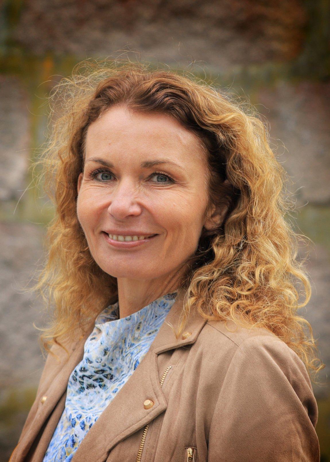 2021 Kjerstin Wøyen Funderud, stortingskandidat for Østfold, portrett