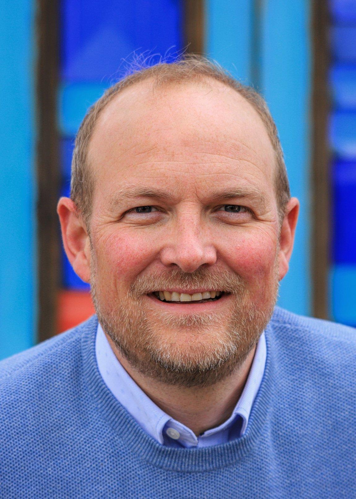 2021 Stortingsrepresentant Ole André Myhrvold (Østfold) portrett