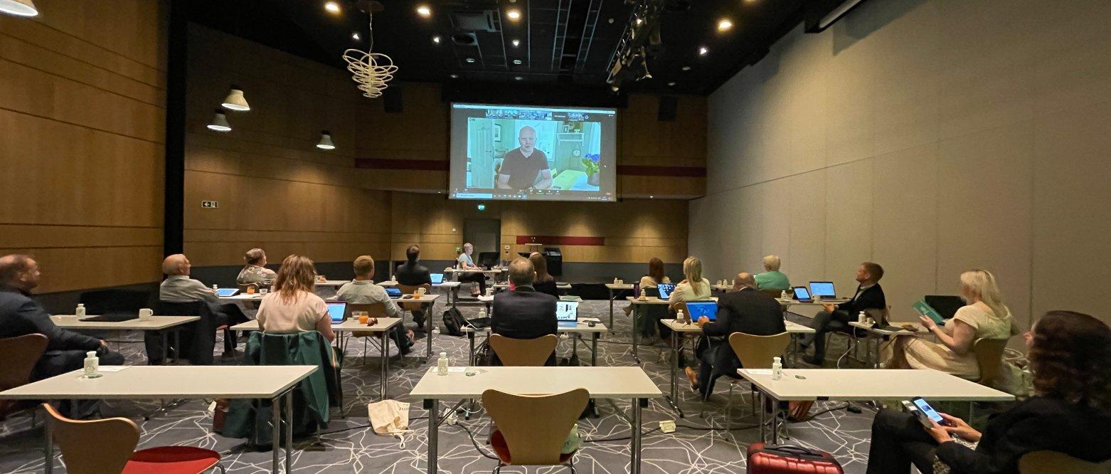 Bredt og viktig engasjement fra delegatene fra Rogaland