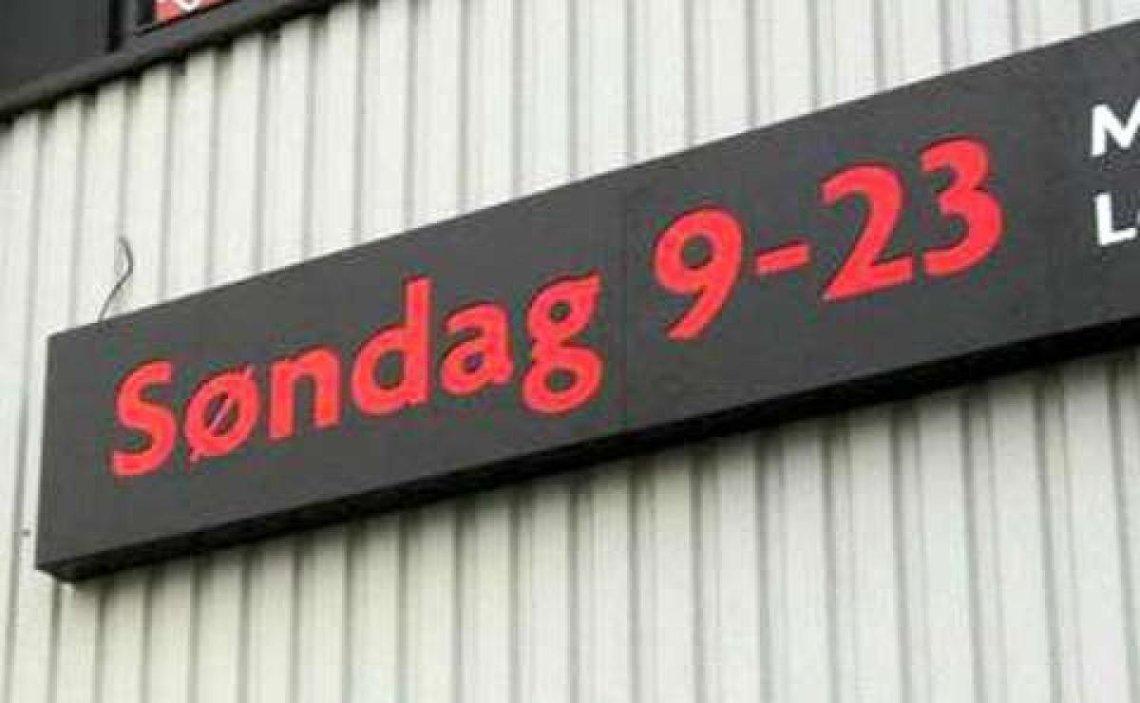 Kjære Olaug Bollestad, ikkje gå for søndagsåpne butikkar.