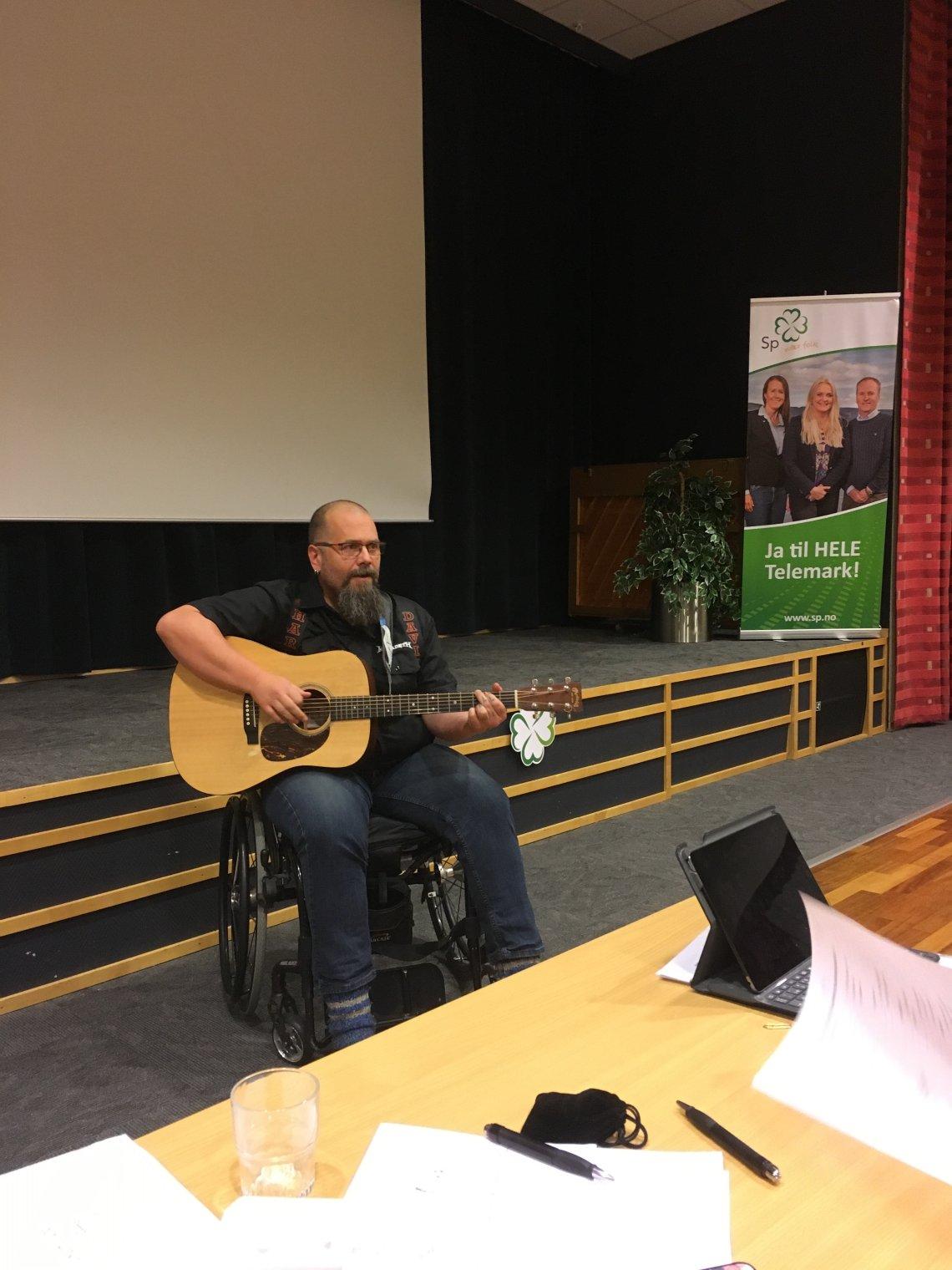 Glimt frå helgas høstkonferanse i Telemark Senterparti
