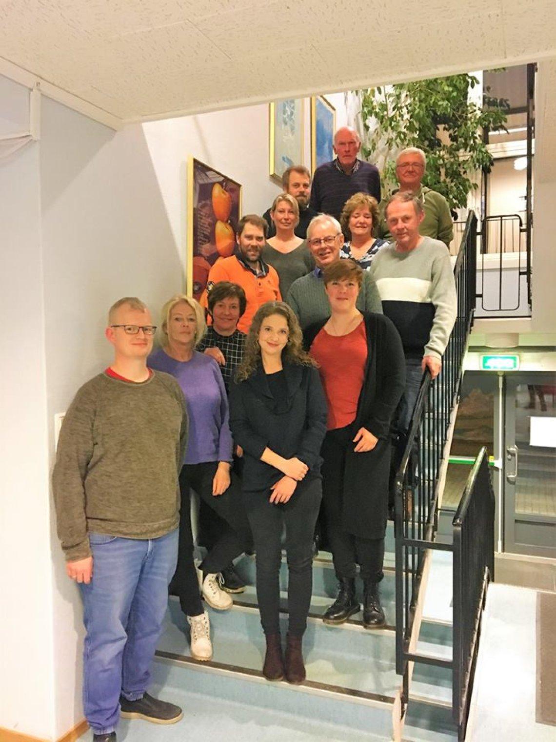 Kommunevalgliste Siljan Senterparti 2019