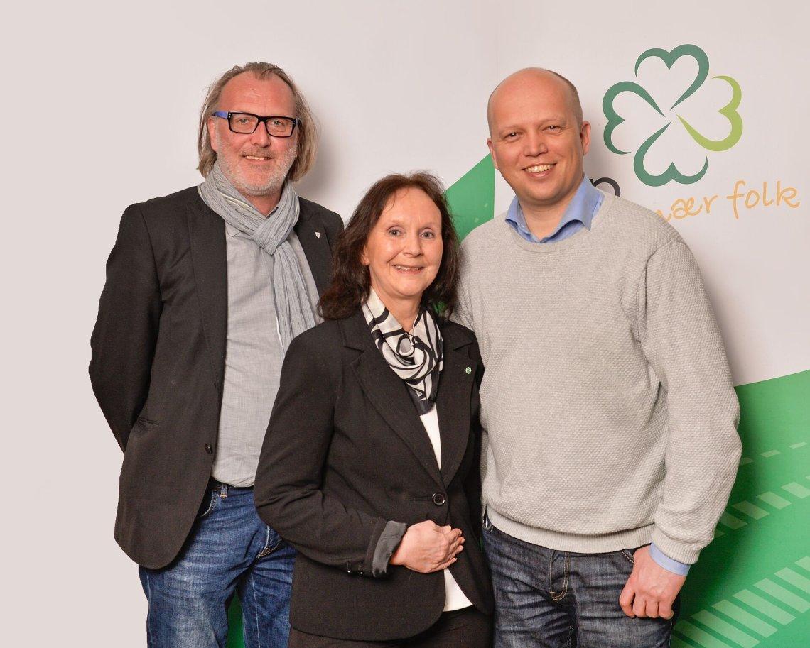Bjørn Sverre Sæberg og Wenke Haaven topper SP lista i Tinn