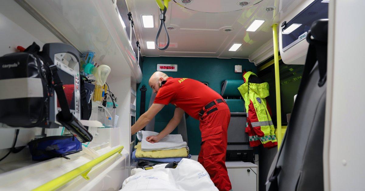 2019 Ambulansesjåfør i Kinn, Sogn og Fjordane