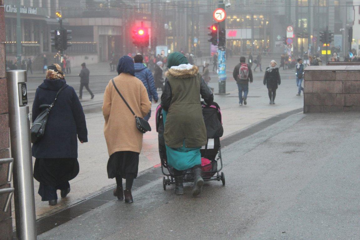 2016 - Kvinner med barnevogn i Oslo