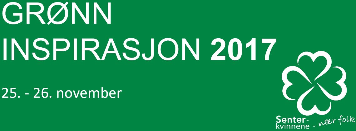 Program - Grønn inspirasjon 2017